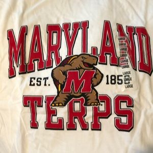 Maryland Terps tshirt